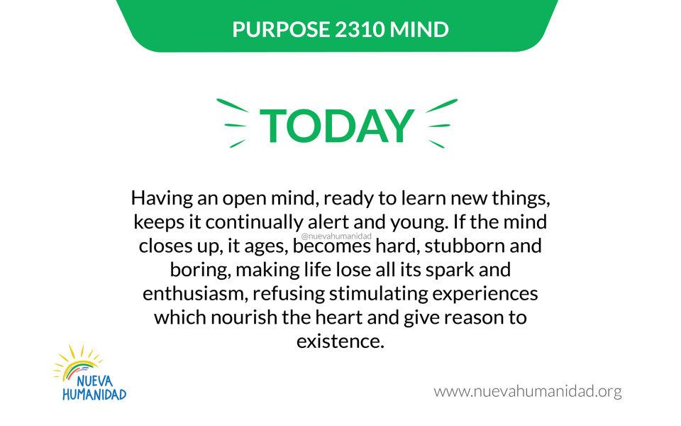 Purpose 2310 Mind