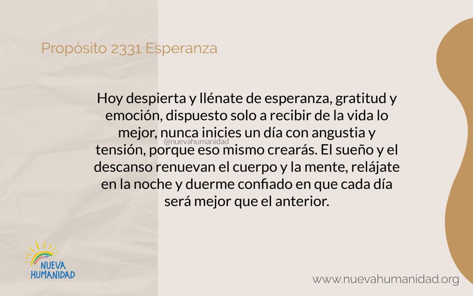Propósito 2331 Esperanza