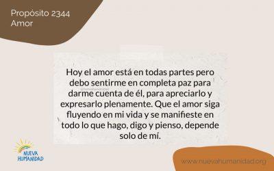 Propósito 2344 Amor
