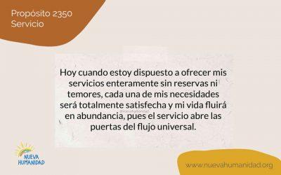 Propósito 2350 Servicio