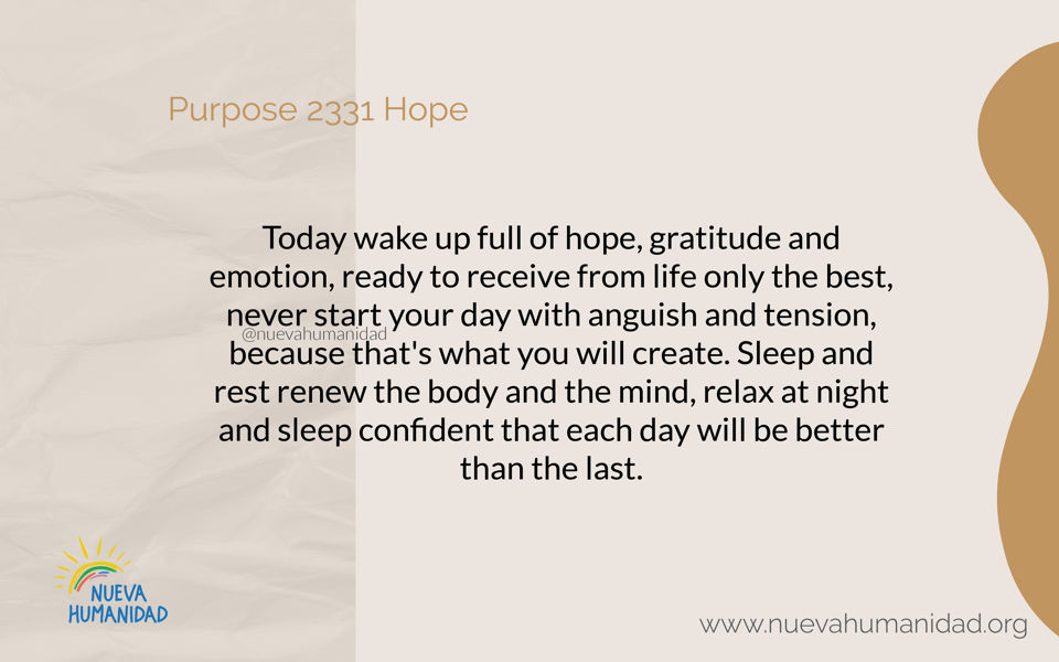 Purpose 2331 Hope