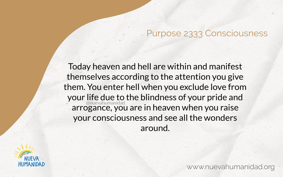 Purpose 2333 Consciousness