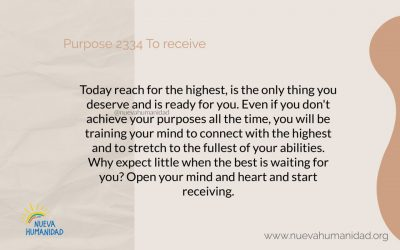 Purpose 2334 To receive