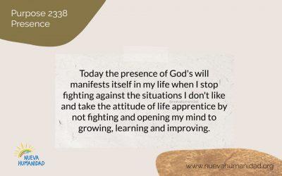 Purpose 2338 Presence
