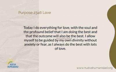 Purpose 2346 Love