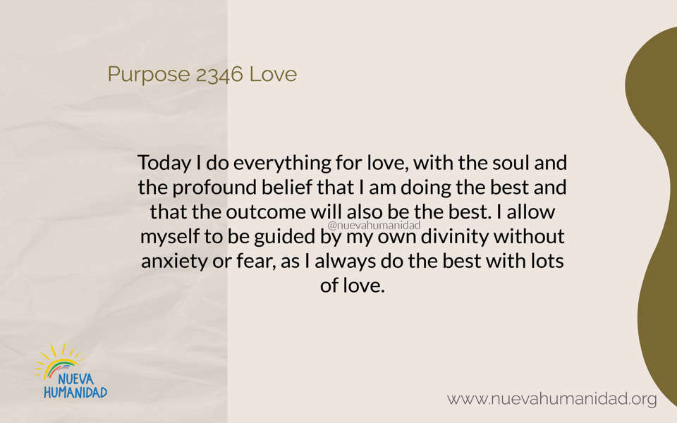Purpose 2346 Love