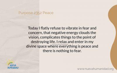 Purpose 2352 Peace