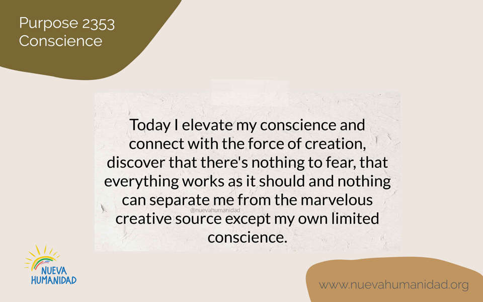 Purpose 2353 Conscience