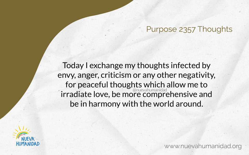 Purpose 2357 Thoughts