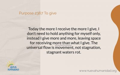 Purpose 2367 To give