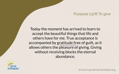 Purpose 2378 To give