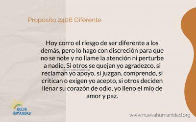 Propósito 2406 Diferente