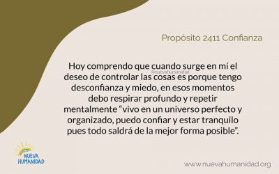 Propósito 2411 Confianza