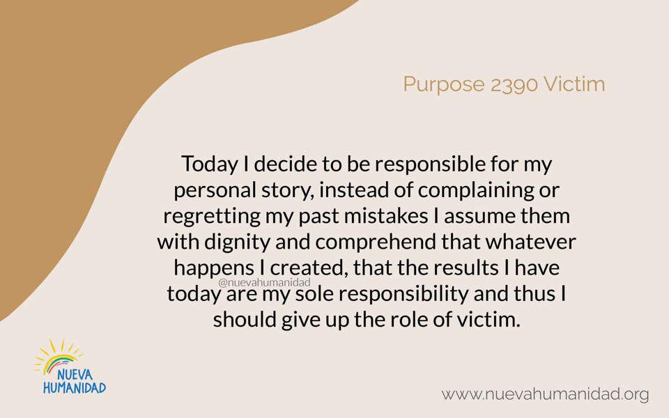Purpose 2390 Victim