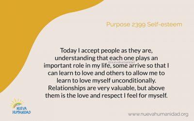 Purpose 2399 Self-esteem
