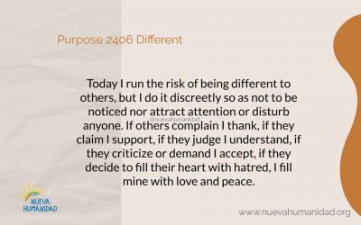 Purpose 2406 Different