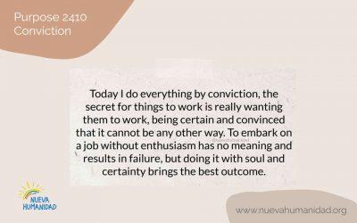Purpose 2410 Conviction