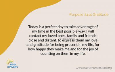 Purpose 2414 Gratitude