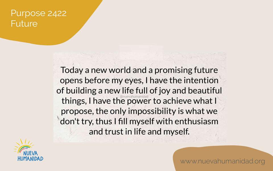Purpose 2422 Future