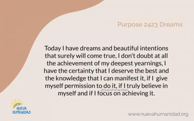 Purpose 2423 Dreams