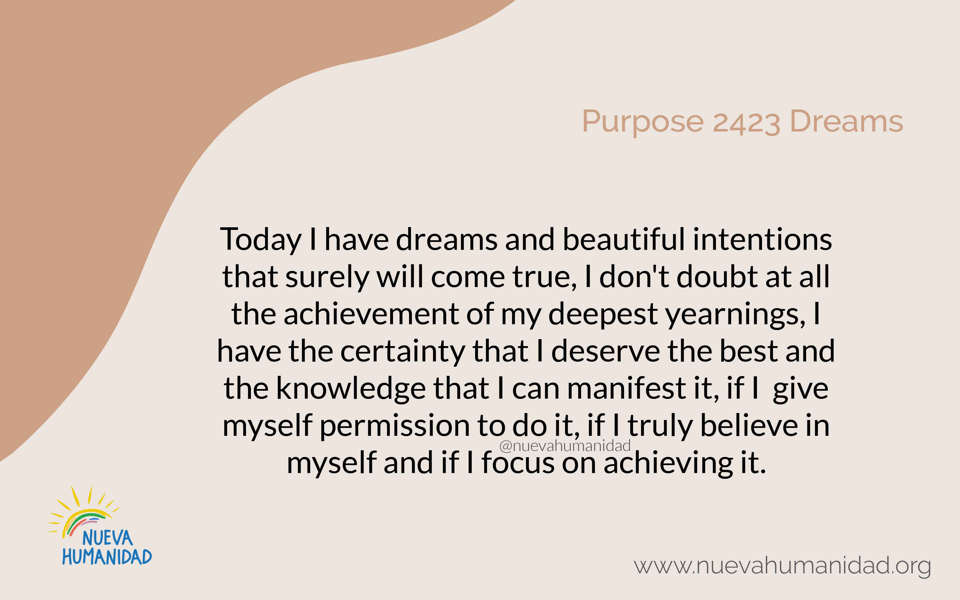 Purpose 2423 Dreams