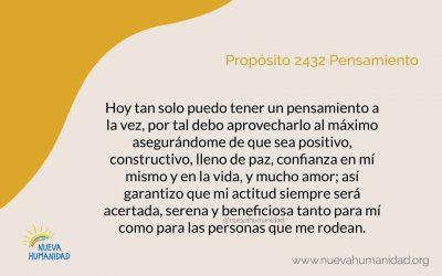 Propósito 2432 Pensamiento