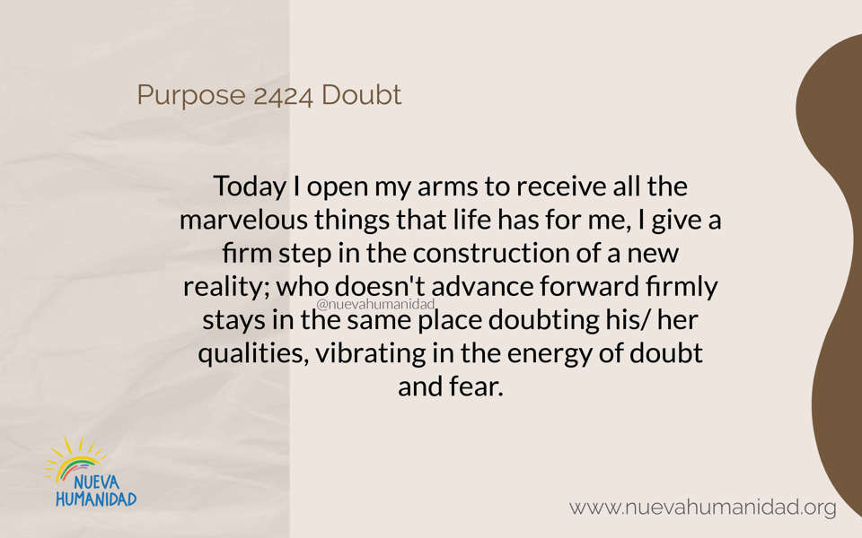 Purpose 2424 Doubt