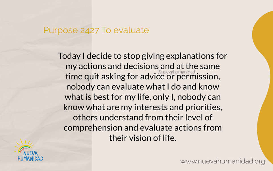 Purpose 2427 To evaluate