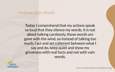 Purpose 2430 Words