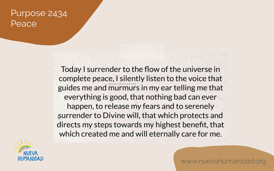 Purpose 2434 Peace