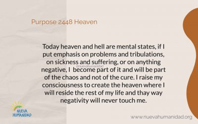 Purpose 2448 Heaven