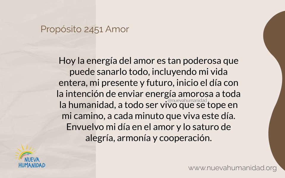 Propósito 2451 Amor