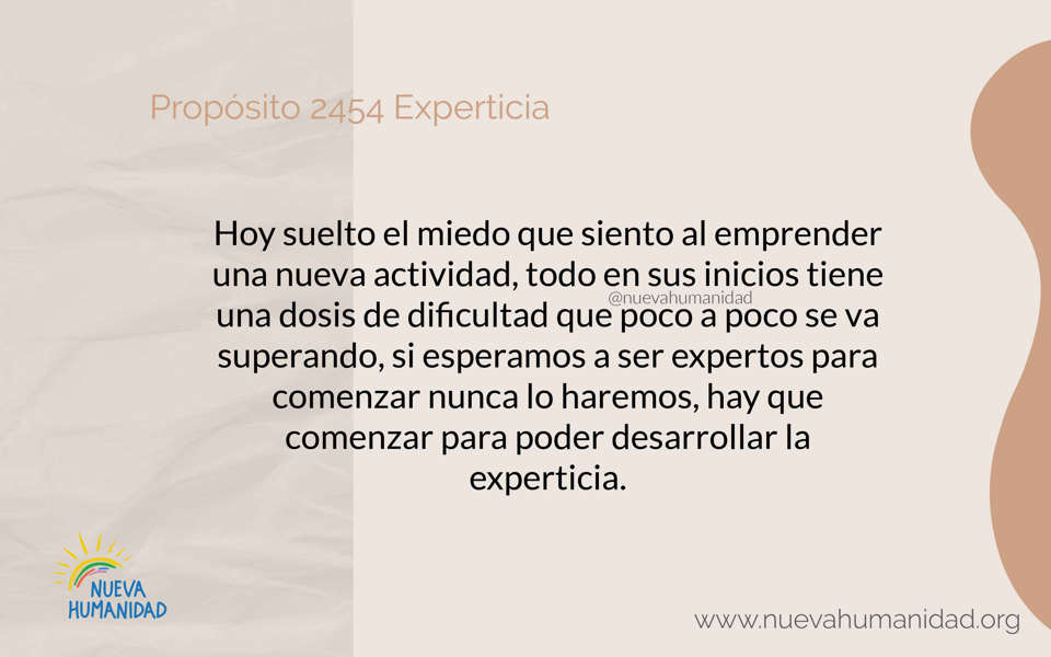 Propósito 2454 Experticia
