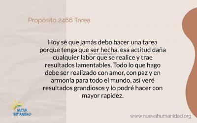 Propósito 2466 Tarea