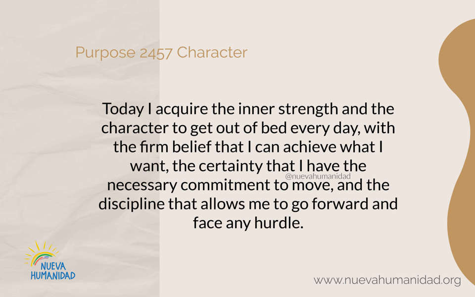 Purpose 2457 Character