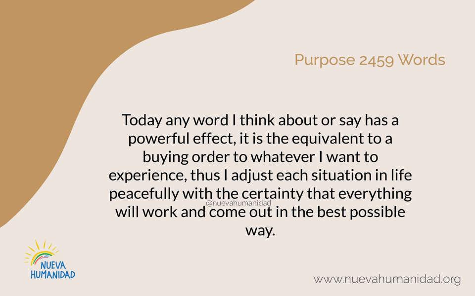 Purpose 2459 Words