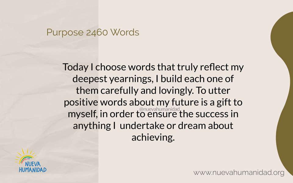 Purpose 2460 Words