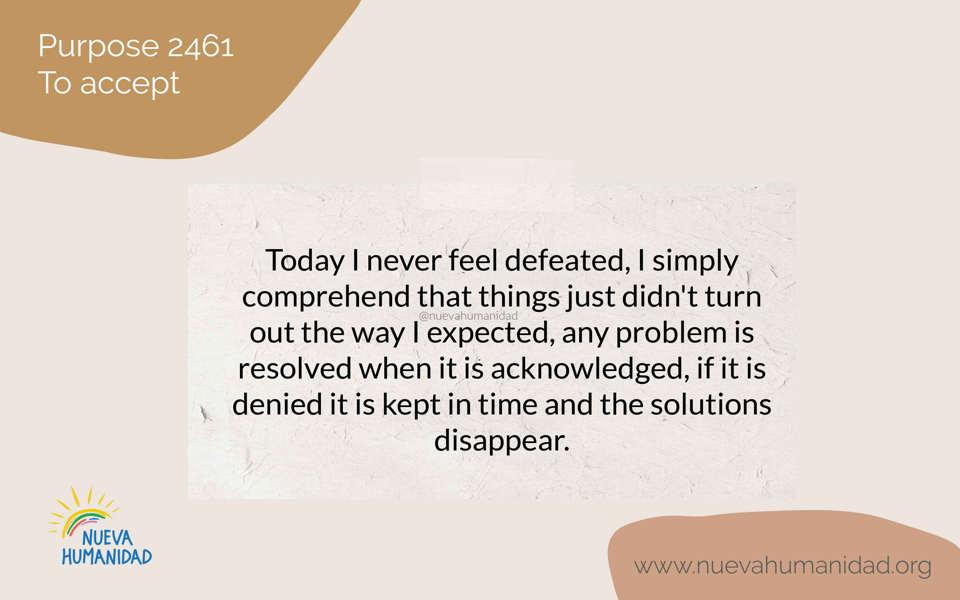 Purpose 2461 To accept