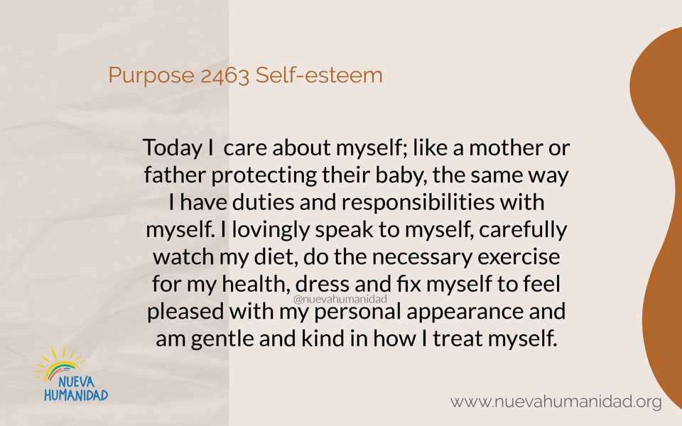 Purpose 2463 Self-esteem