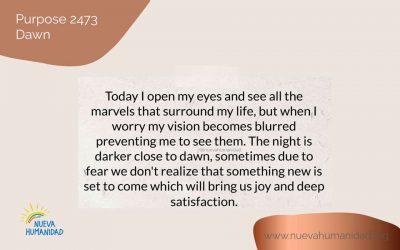Purpose 2473 Dawn