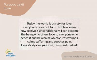 Purpose 2476 Love