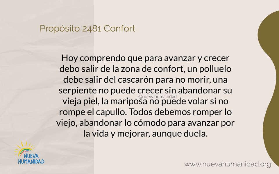 Propósito 2481 Confort