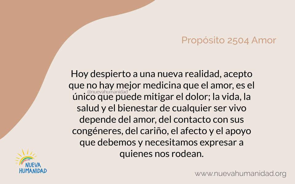 Propósito 2504 Amor