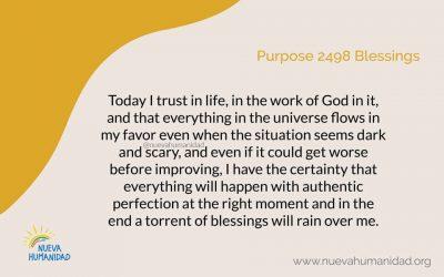 Purpose 2498 Blessings