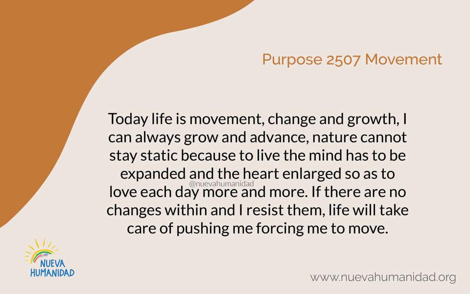 Purpose 2507 Movement