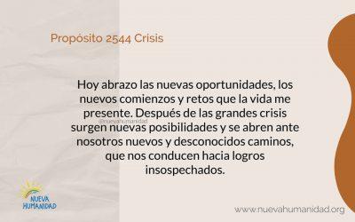 Propósito 2544 Crisis