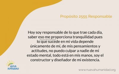 Propósito 2555 Responsable