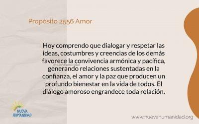 Propósito 2556 Amor