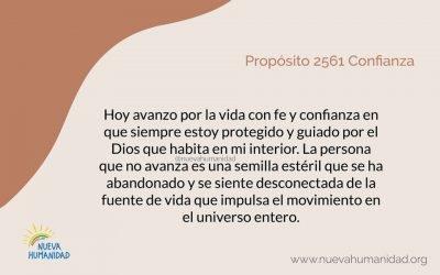 Propósito 2561 Confianza