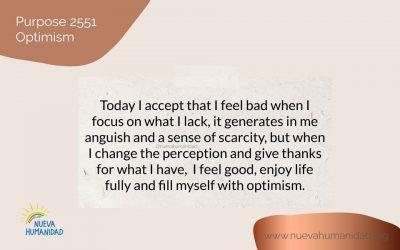 Purpose 2551 Optimism